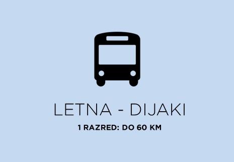 Letna - Dijaki - 1. RAZRED